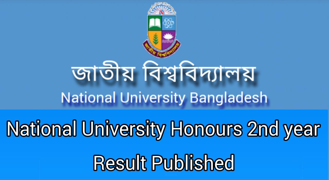 NU 2nd Result 2019
