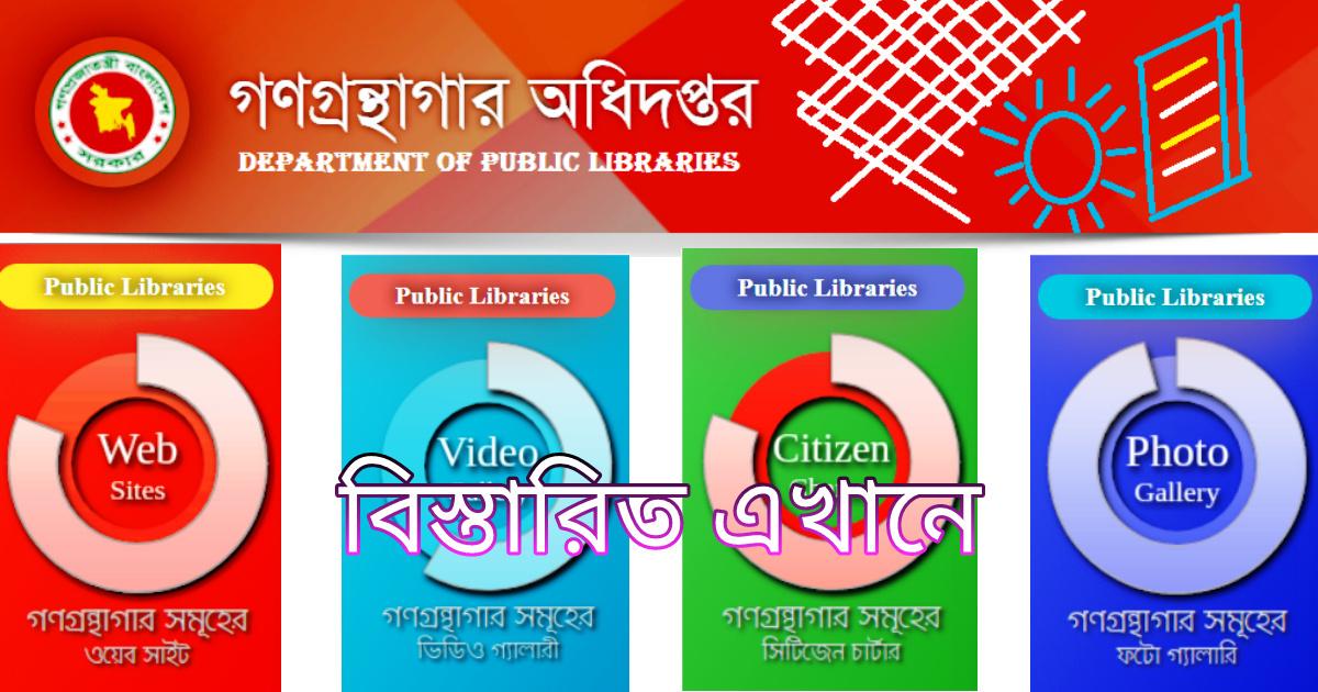 public library job circular