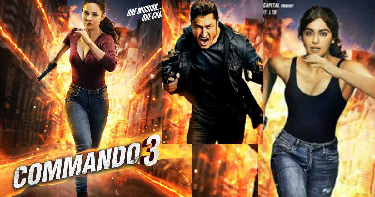 Commando 3 Full Hd Movie Download 2019 Deshbd25 Com