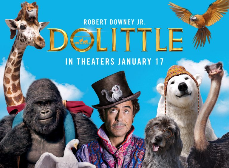 Dolittle Full Movie Download in Hindi 480p, 720p HD Movie