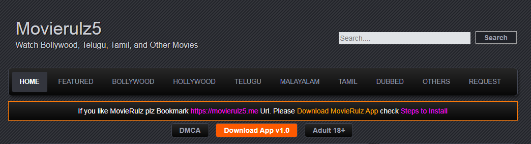 Movierulz2 website