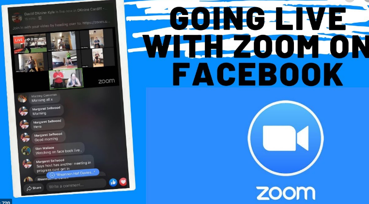 FaceBook Live From Zoom